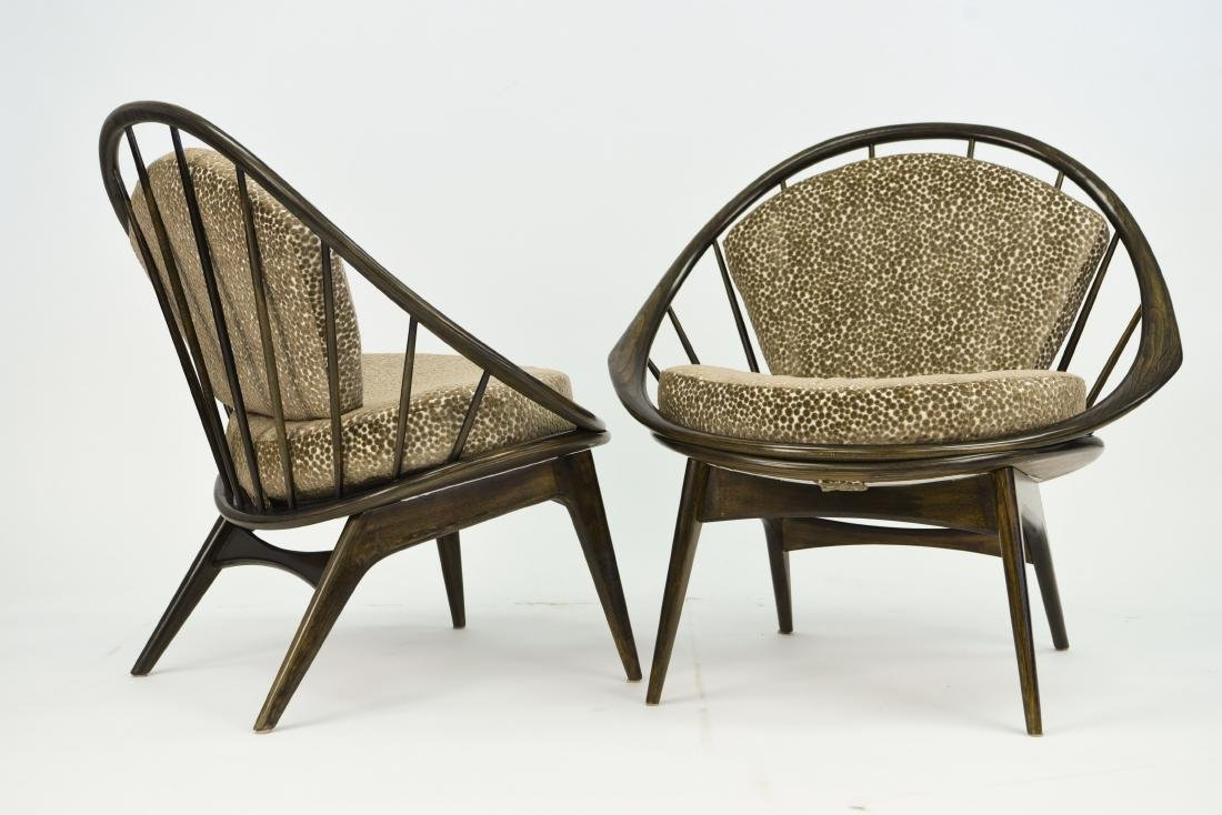 IB KOFOD-LARSEN FOR SELIG LOUNGE CHAIRS