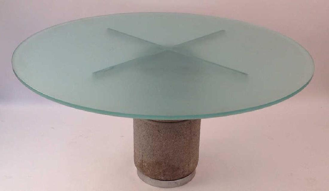 GIOVANNI OFFREDI FOR SAPORITI DINING TABLE