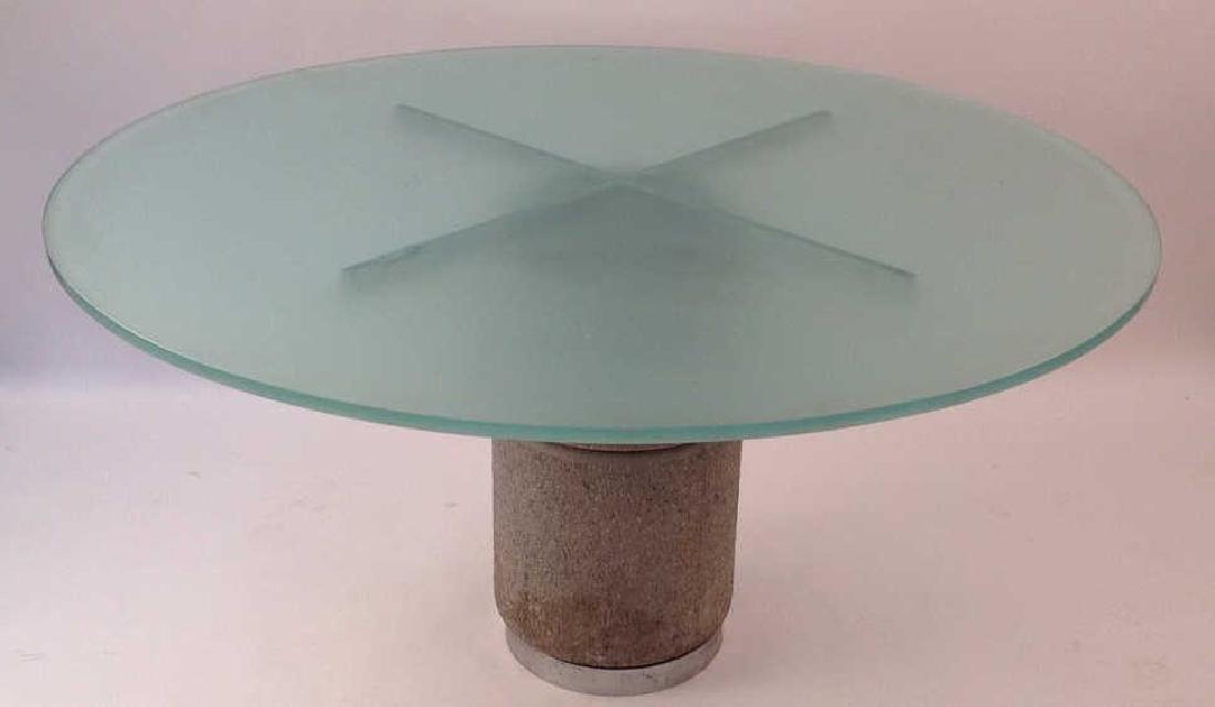 GIOVANNI OFFREDI FOR SAPORITI DINING TABLE