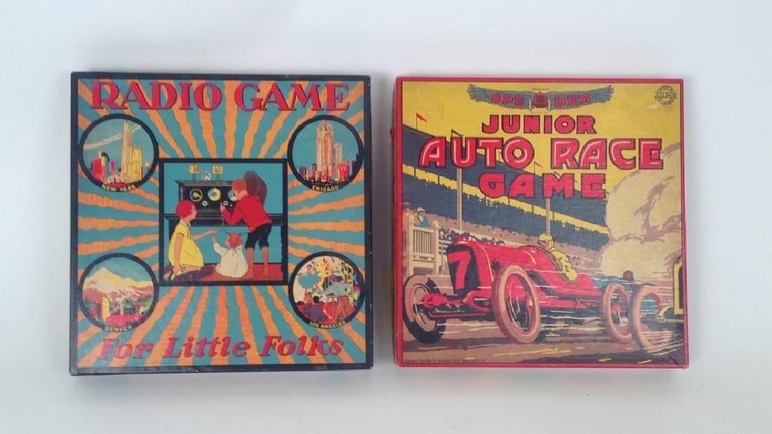 (2) 1920'S/1930'S BOARD GAMES