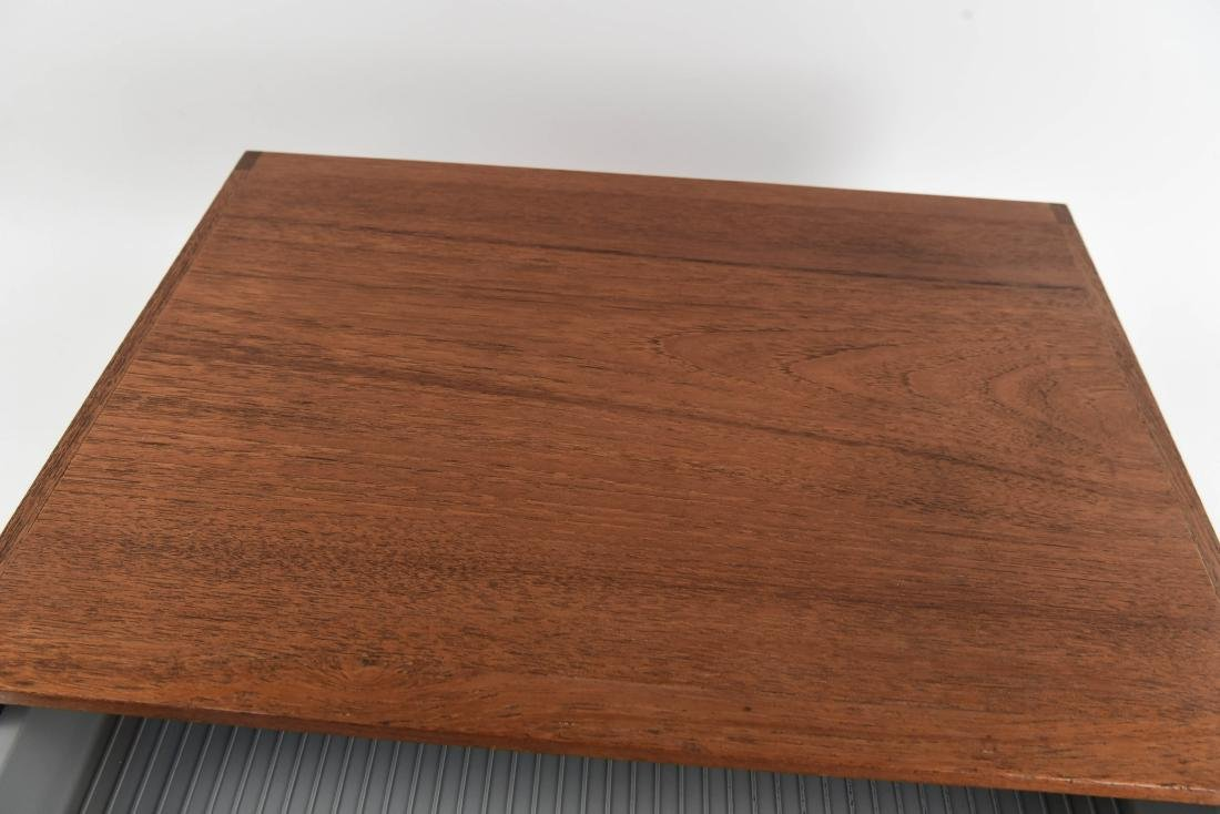 DANISH TEAK NIPU DESKTOP FILING PAPER DESK TRAY - 7