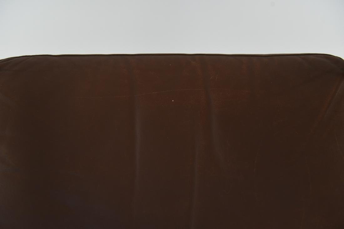 ARNE VODDER STYLE LEATHER & ROSEWOOD LOUNGE CHAIR - 7