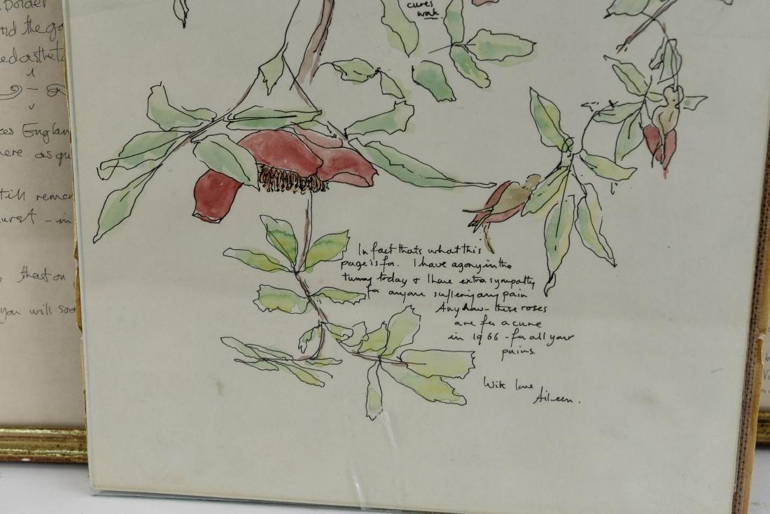 (5) AILEEN NIEMAN INK AND WATERCOLOR - 4
