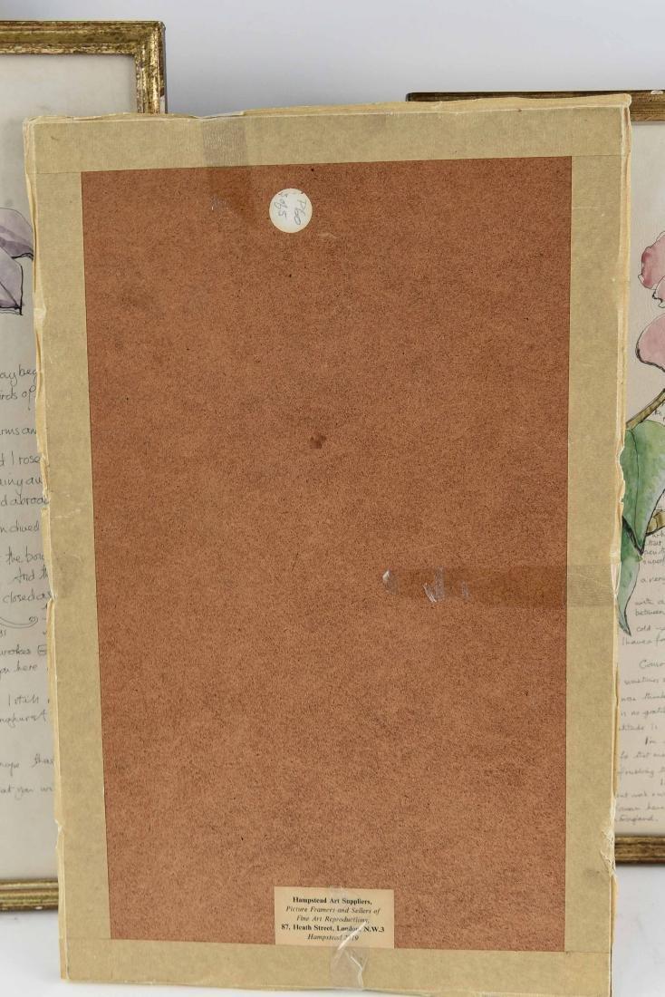 (5) AILEEN NIEMAN INK AND WATERCOLOR - 5