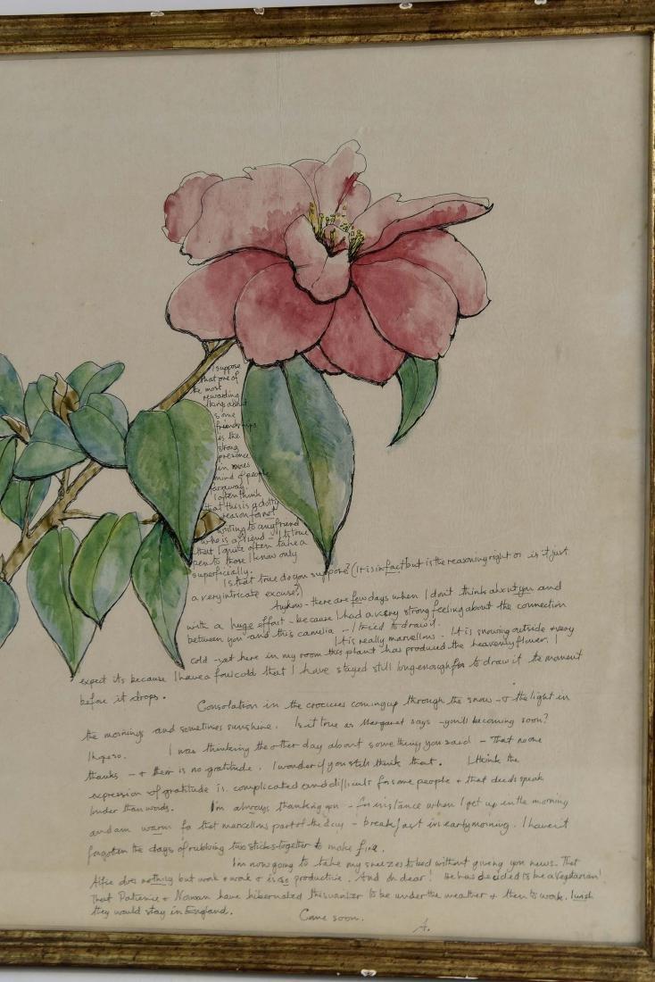 (5) AILEEN NIEMAN INK AND WATERCOLOR - 6