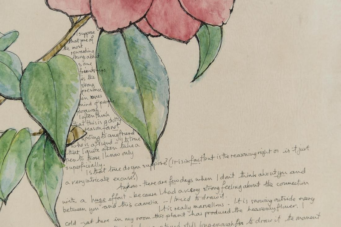 (5) AILEEN NIEMAN INK AND WATERCOLOR - 7