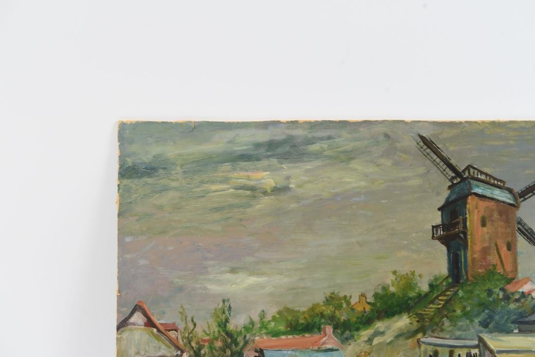 MAWIG (FRENCH 1890-1972) WINDMILL ON A HILL - 2