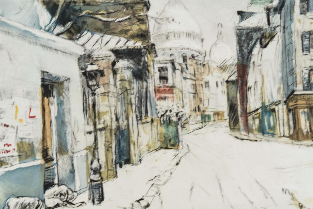 (4) RENE ZIMMERMAN (FRENCH 1904-1991) PRINTS - 10