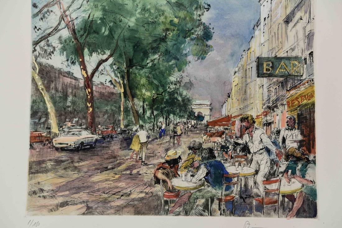 (4) RENE ZIMMERMAN (FRENCH 1904-1991) PRINTS - 2