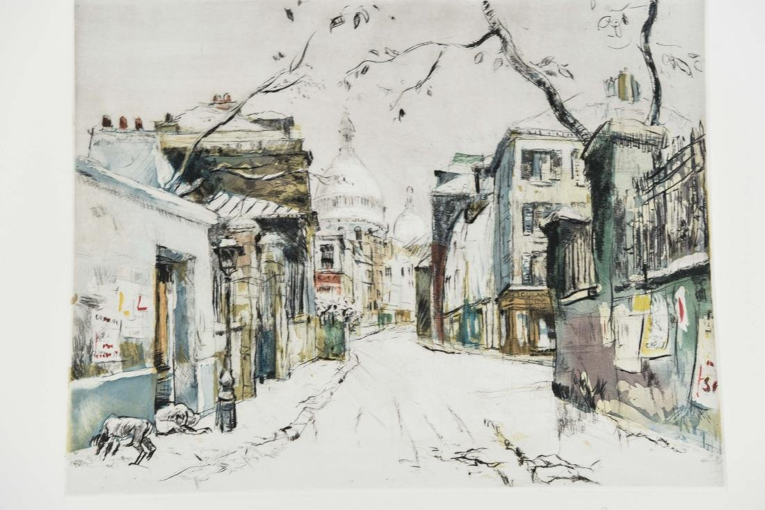 (4) RENE ZIMMERMAN (FRENCH 1904-1991) PRINTS - 3