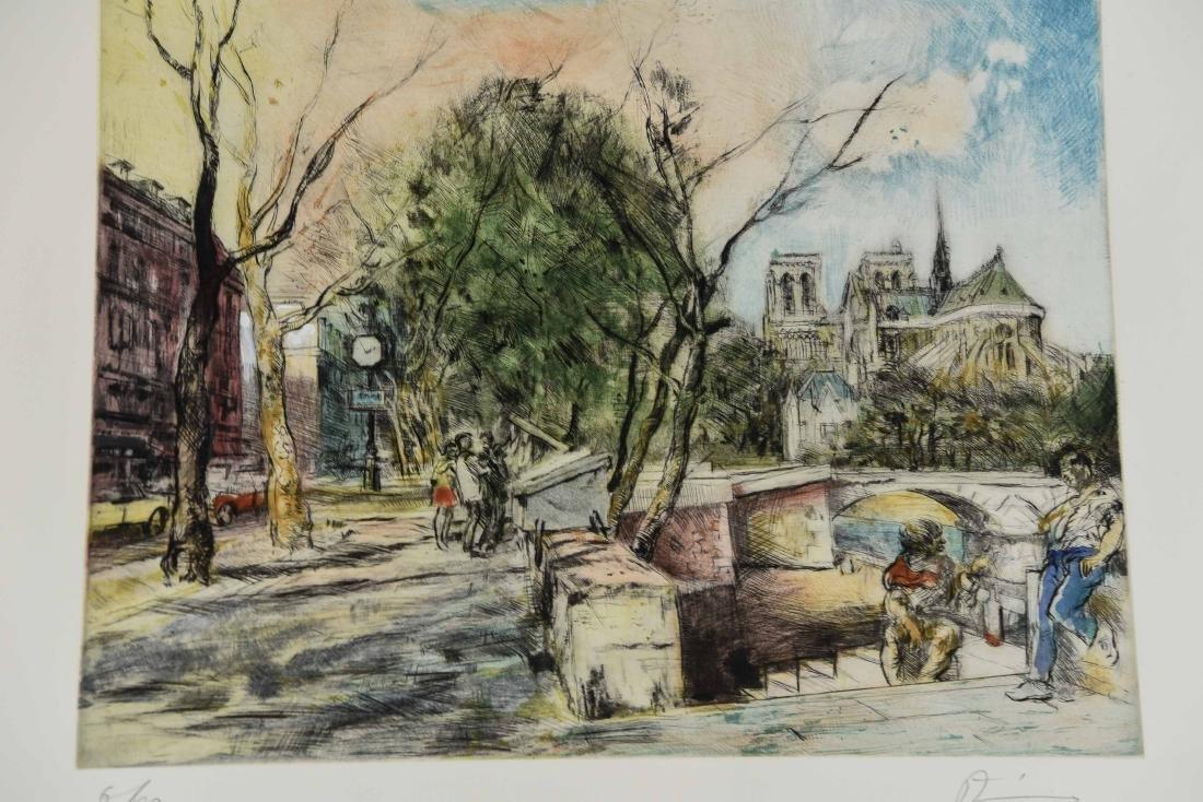 (4) RENE ZIMMERMAN (FRENCH 1904-1991) PRINTS - 4