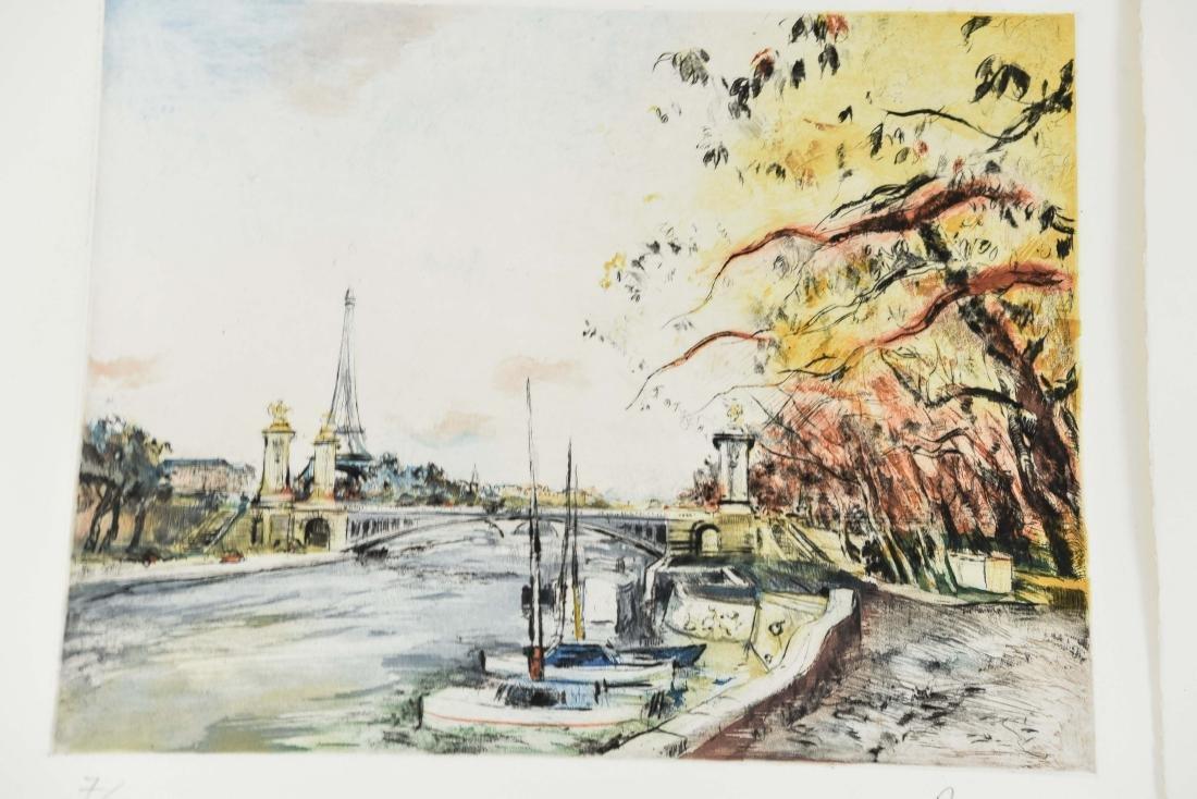 (4) RENE ZIMMERMAN (FRENCH 1904-1991) PRINTS - 5