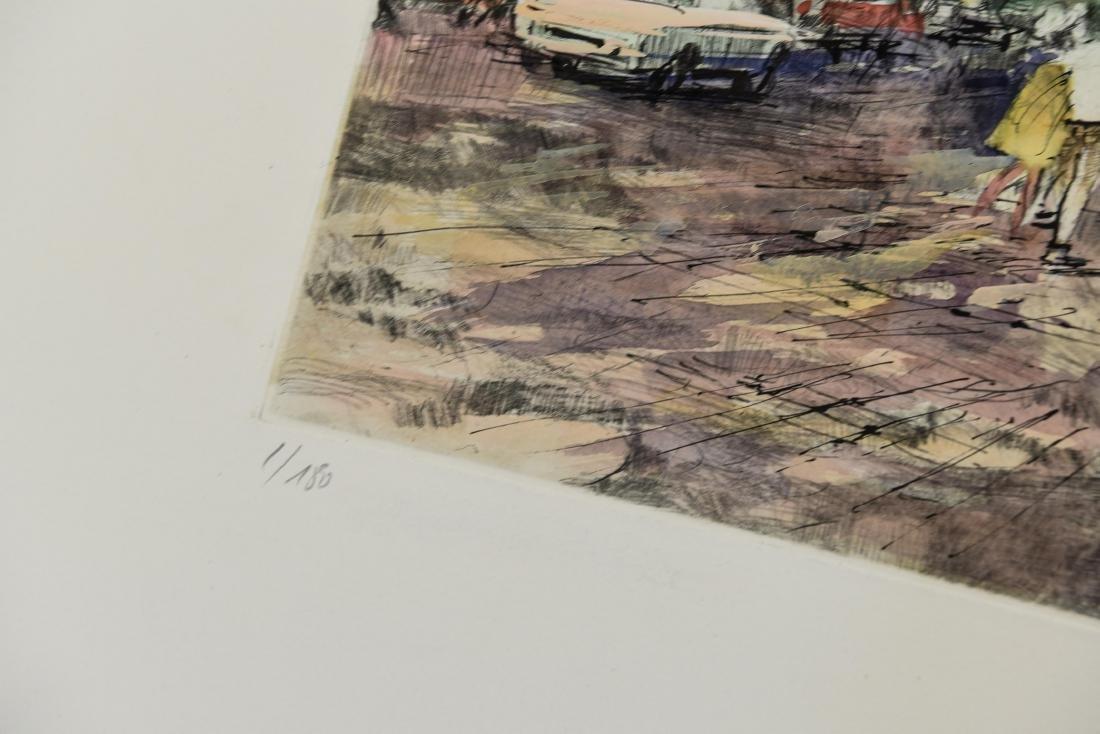 (4) RENE ZIMMERMAN (FRENCH 1904-1991) PRINTS - 7