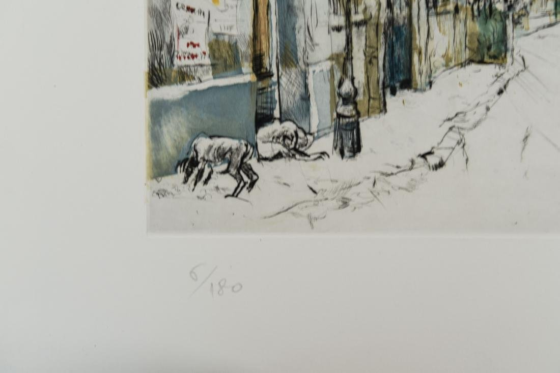 (4) RENE ZIMMERMAN (FRENCH 1904-1991) PRINTS - 9