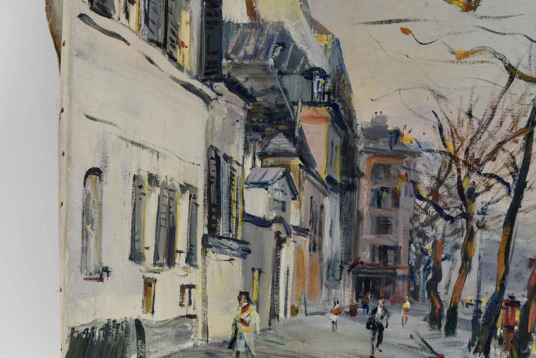 RENE ZIMMERMAN (FRENCH 1904-1991) O/C - 3