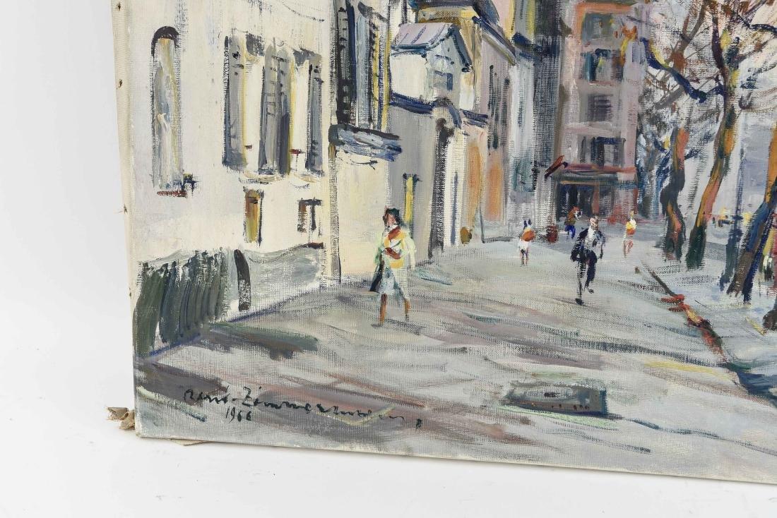 RENE ZIMMERMAN (FRENCH 1904-1991) O/C - 4