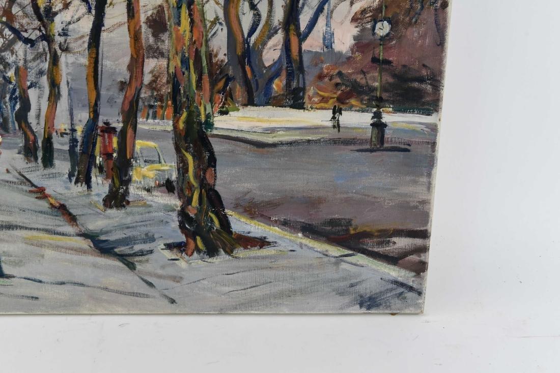 RENE ZIMMERMAN (FRENCH 1904-1991) O/C - 9