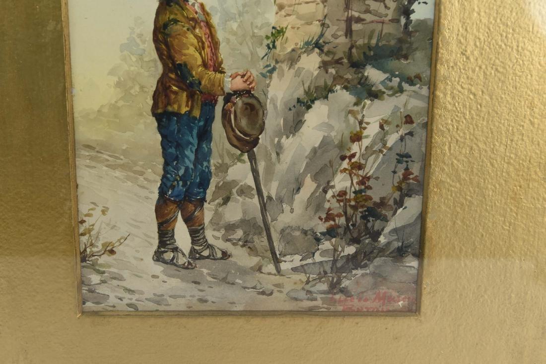 19TH CENTURY ITALIAN WATERCOLOR - 6