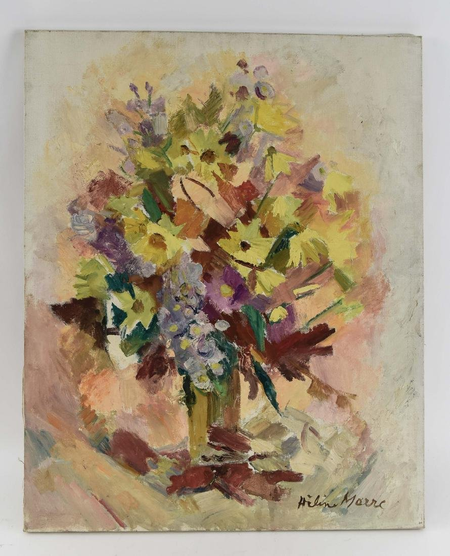 HELEN MARRE O/C FLORAL PAINTING