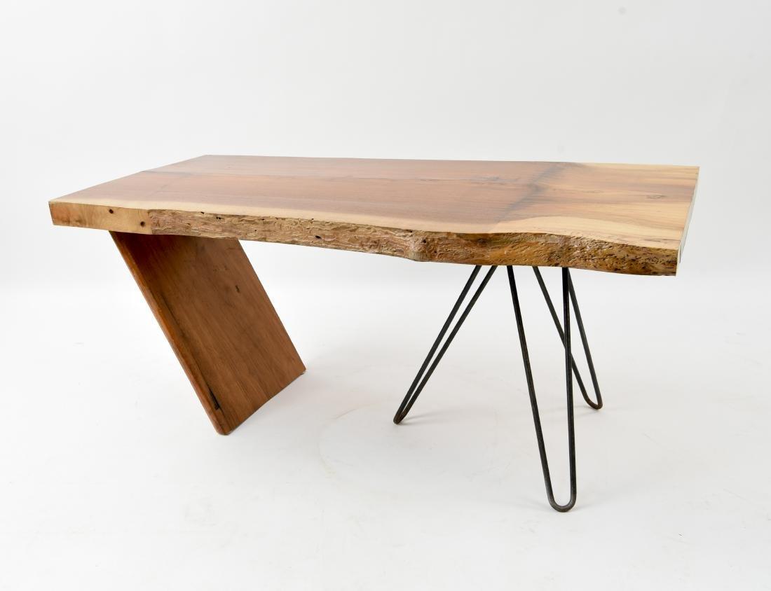 MID-CENTURY MODERN SLAB COFFEE TABLE