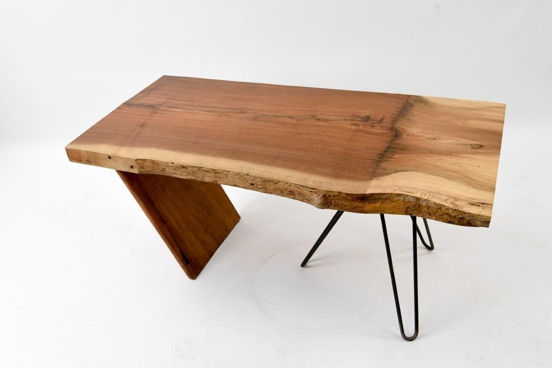 MID-CENTURY MODERN SLAB COFFEE TABLE - 2