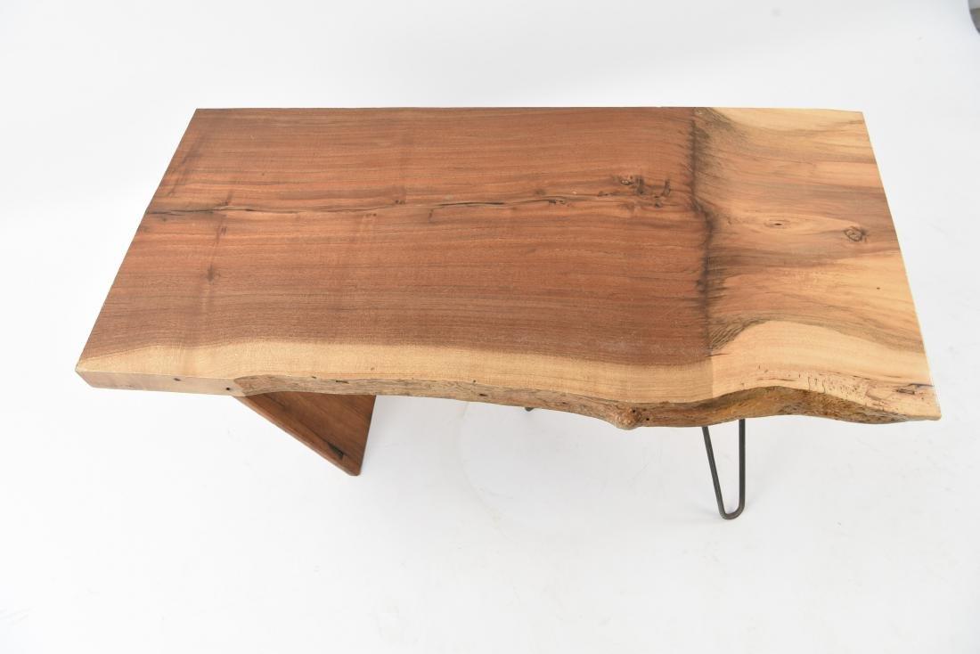 MID-CENTURY MODERN SLAB COFFEE TABLE - 3