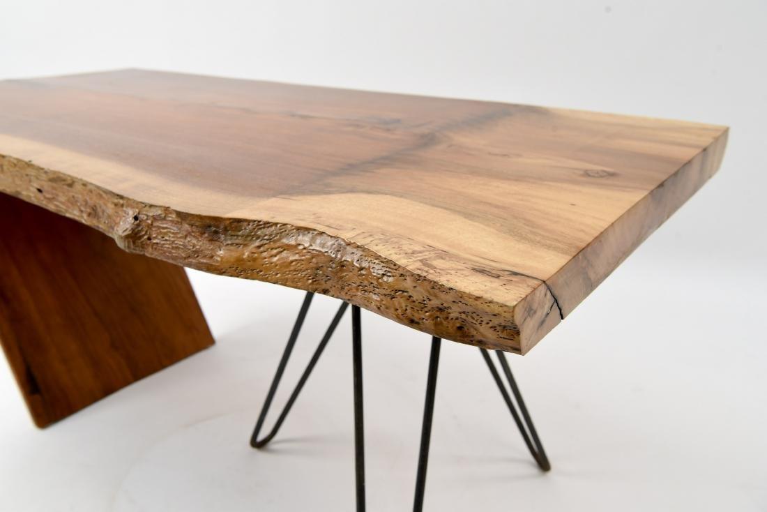 MID-CENTURY MODERN SLAB COFFEE TABLE - 4