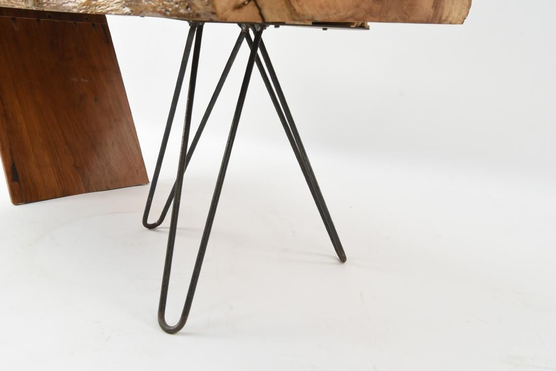 MID-CENTURY MODERN SLAB COFFEE TABLE - 5