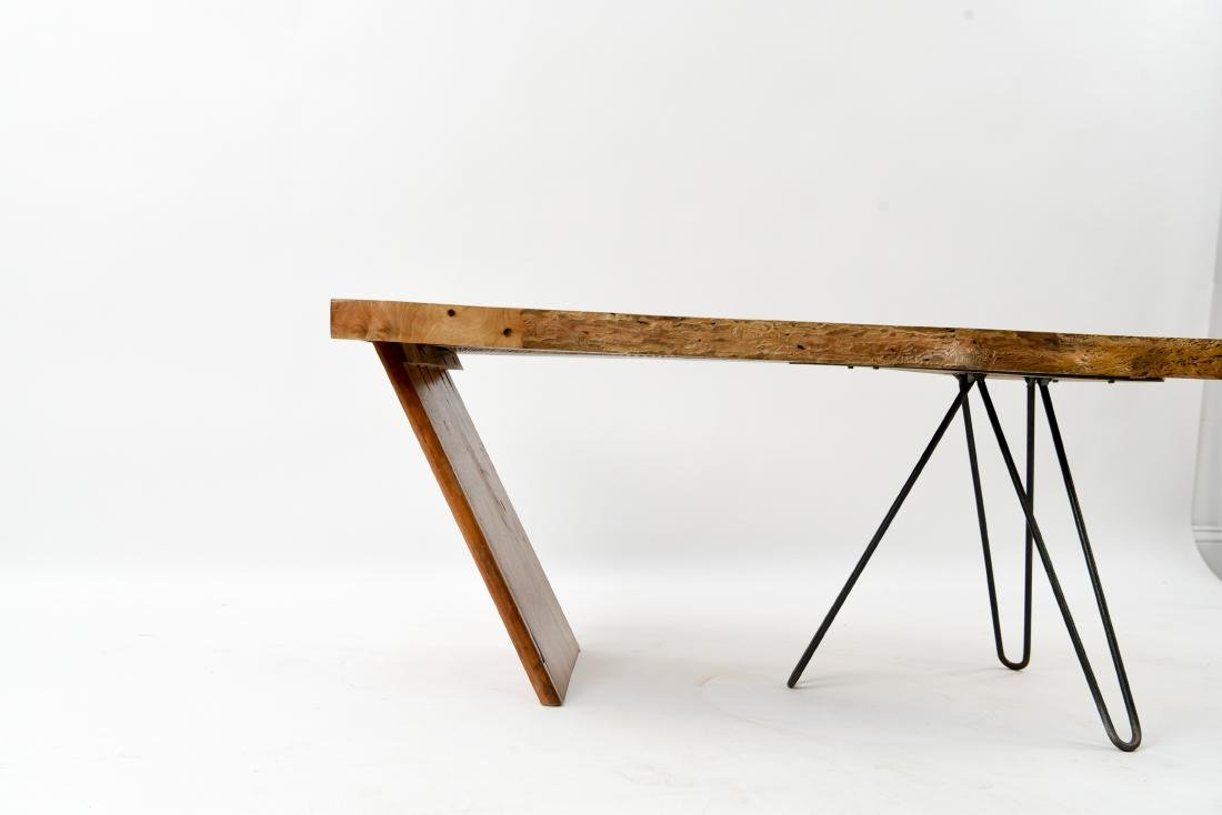 MID-CENTURY MODERN SLAB COFFEE TABLE - 6