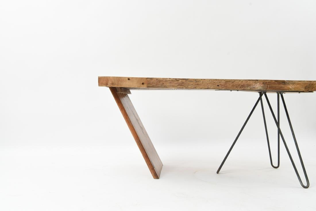 MID-CENTURY MODERN SLAB COFFEE TABLE - 7