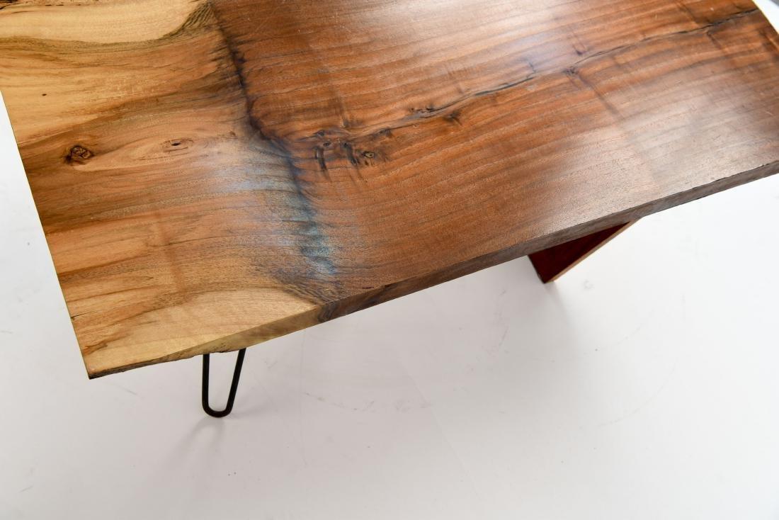 MID-CENTURY MODERN SLAB COFFEE TABLE - 8