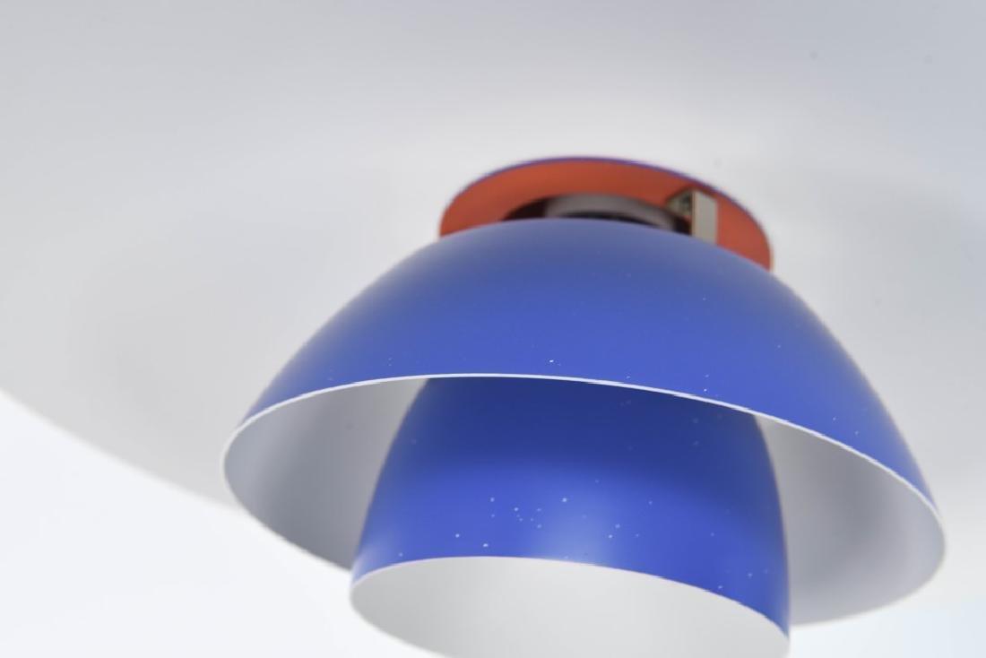 PAIR OF BLUE LOUIS POULSEN PH 4/3 LAMPS - 6