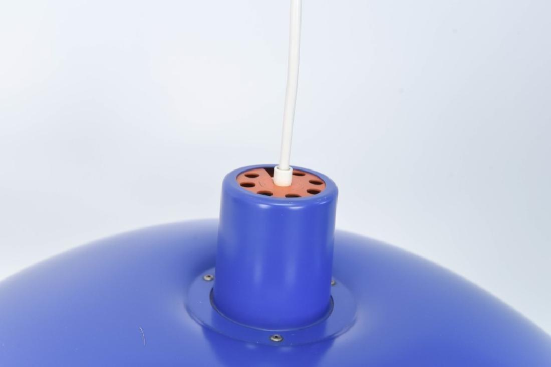 PAIR OF BLUE LOUIS POULSEN PH 4/3 LAMPS - 3