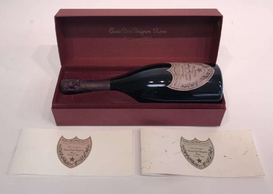 DOM PERIGNON VINTAGE 1988 ROSE BOTTLE