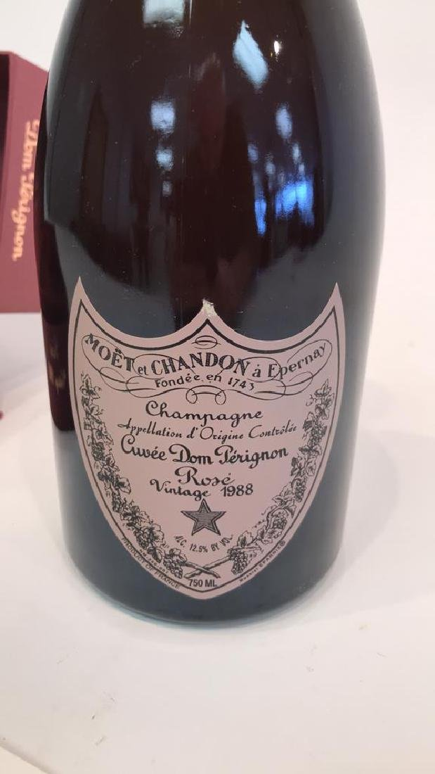 DOM PERIGNON VINTAGE 1988 ROSE BOTTLE - 5