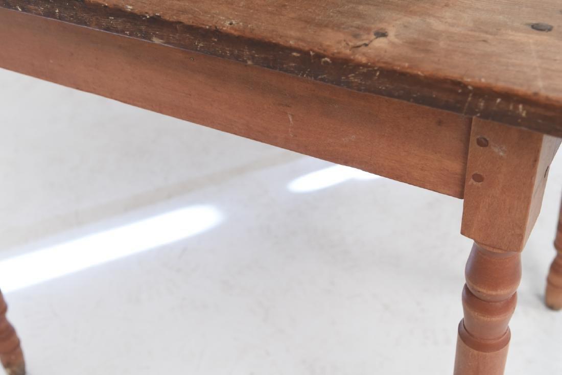 19TH C. DROP LEAF TABLE - 10