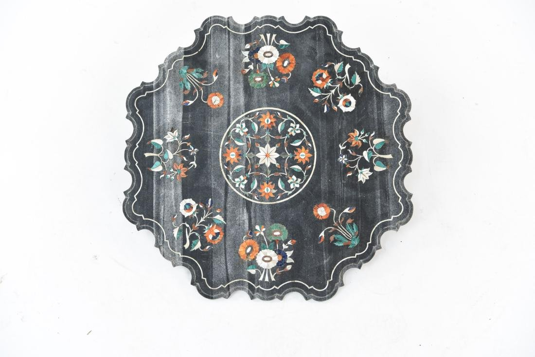 19TH CENTURY INDIAN PIETRA DURA MARBLE TABLE TOP