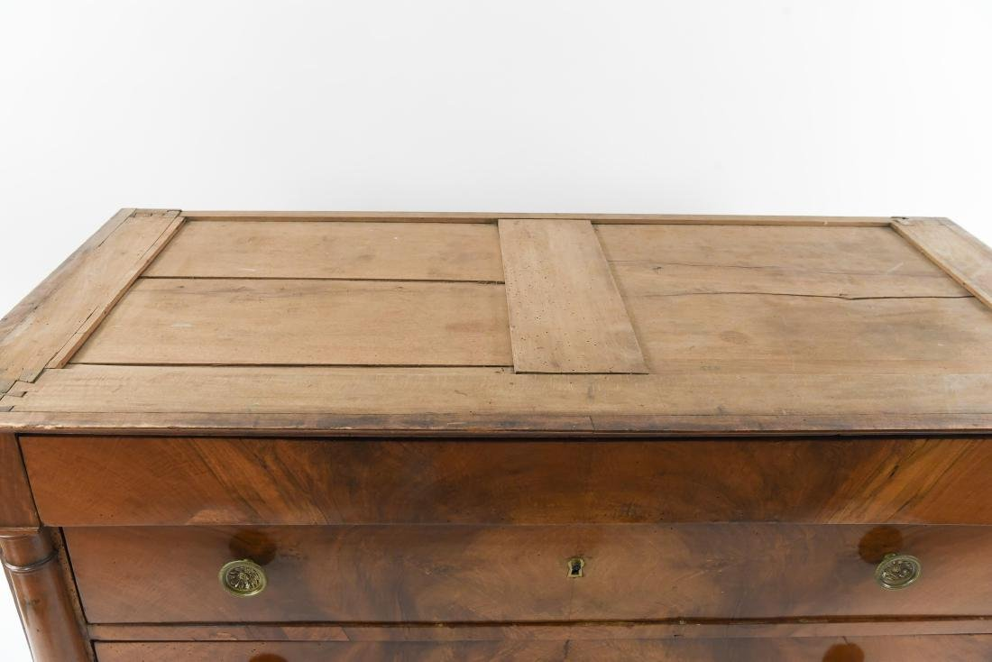 ANTIQUE CHEST OF DRAWERS - 3
