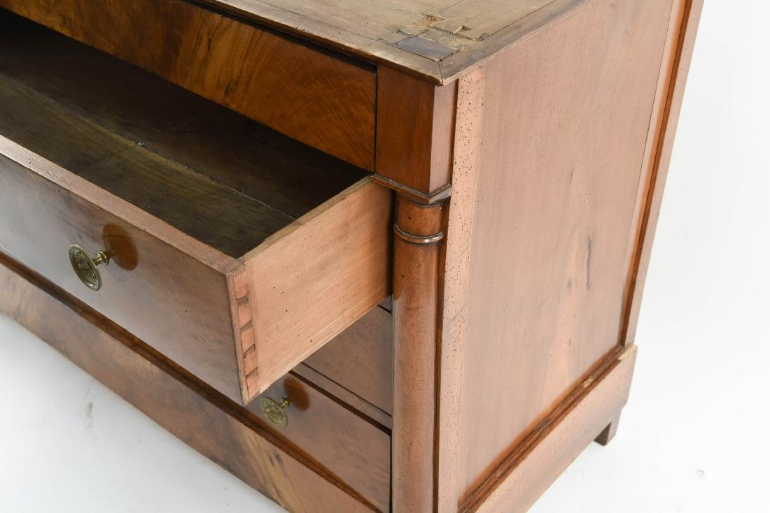 ANTIQUE CHEST OF DRAWERS - 8