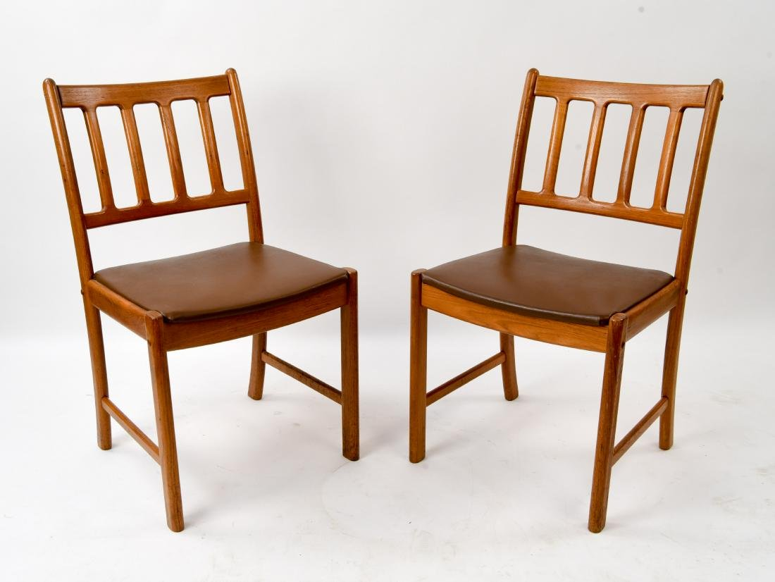 PAIR OF ULDUM MOBELFABRIK DANISH SIDE CHAIRS