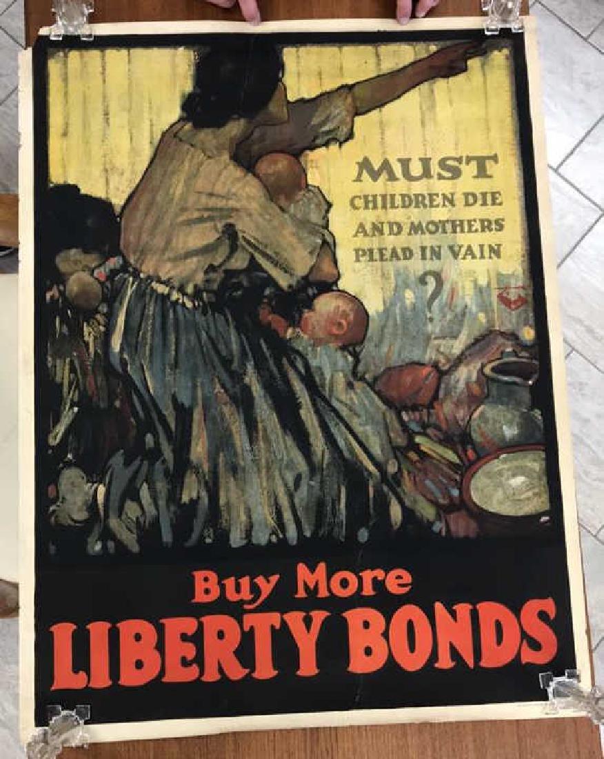 LIBERTY BOND WORLD WAR I POSTER