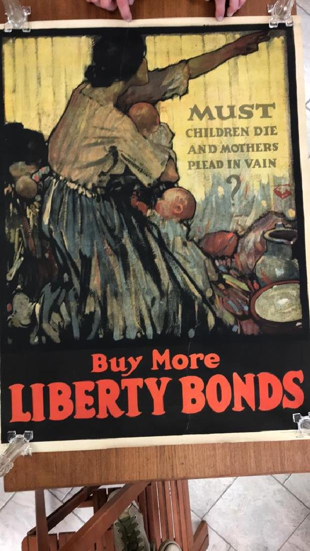 LIBERTY BOND WORLD WAR I POSTER - 2