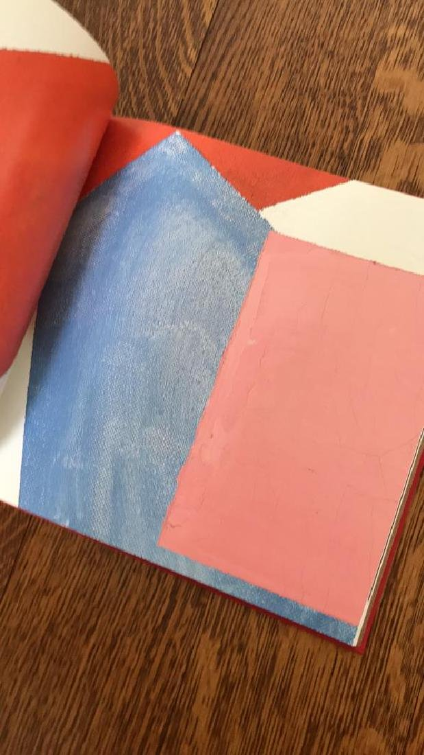 ABSTRACT ART COFFEE TABLE BOOK GROUPING - 7