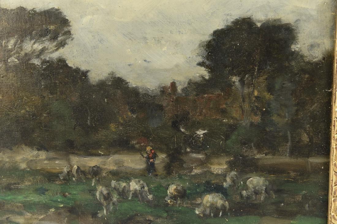 HENRI JOSEPH HARPIGNIES (FRENCH 1819-1916) - 8