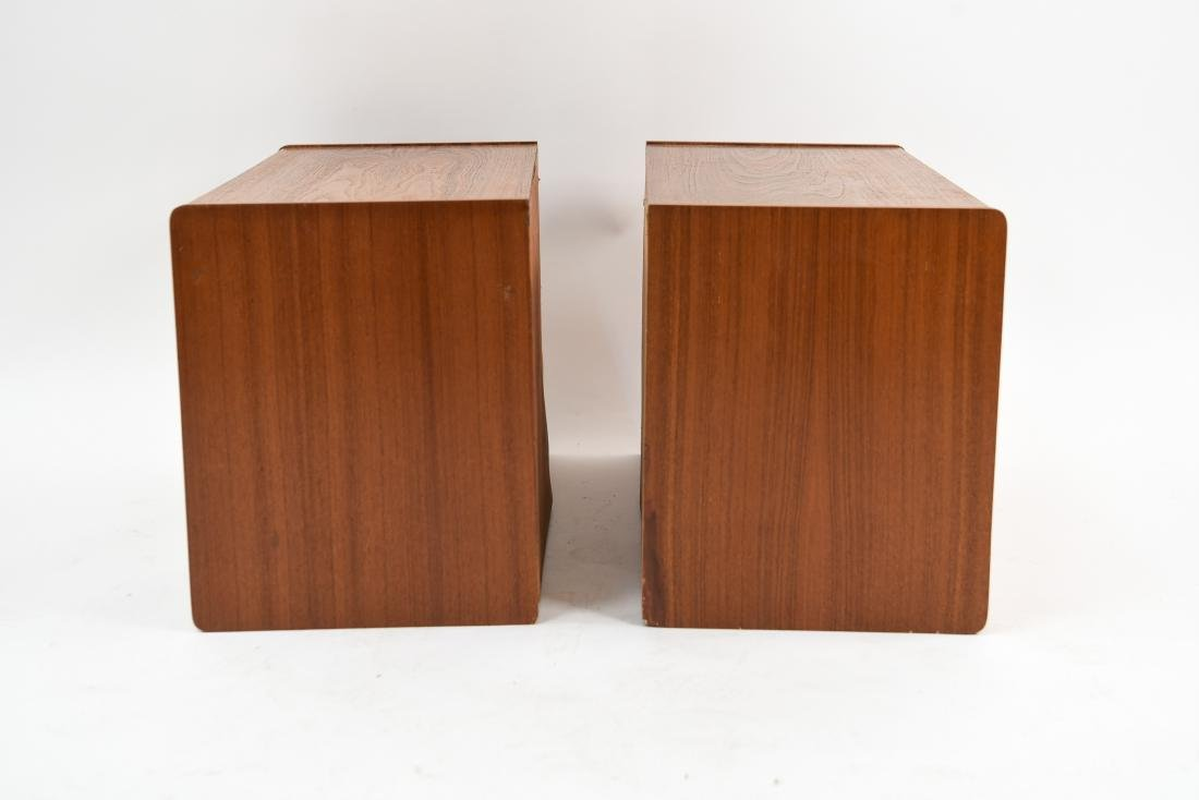 PAIR OF DANISH MID-CENTURY TEAK FLOATING CABINETS - 8