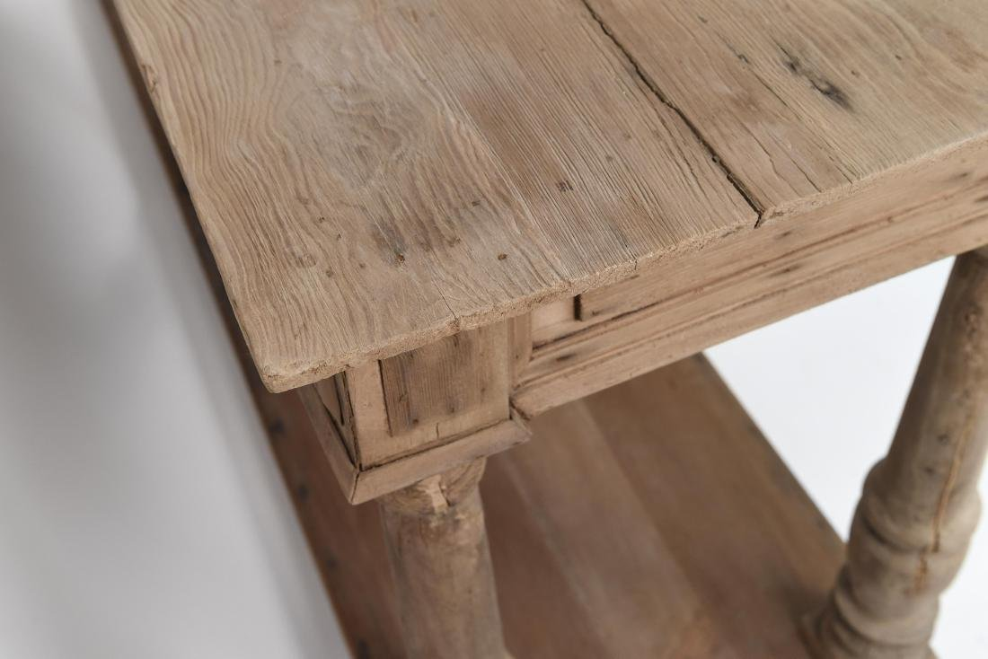LONG PINE CONSOLE TABLE - 10