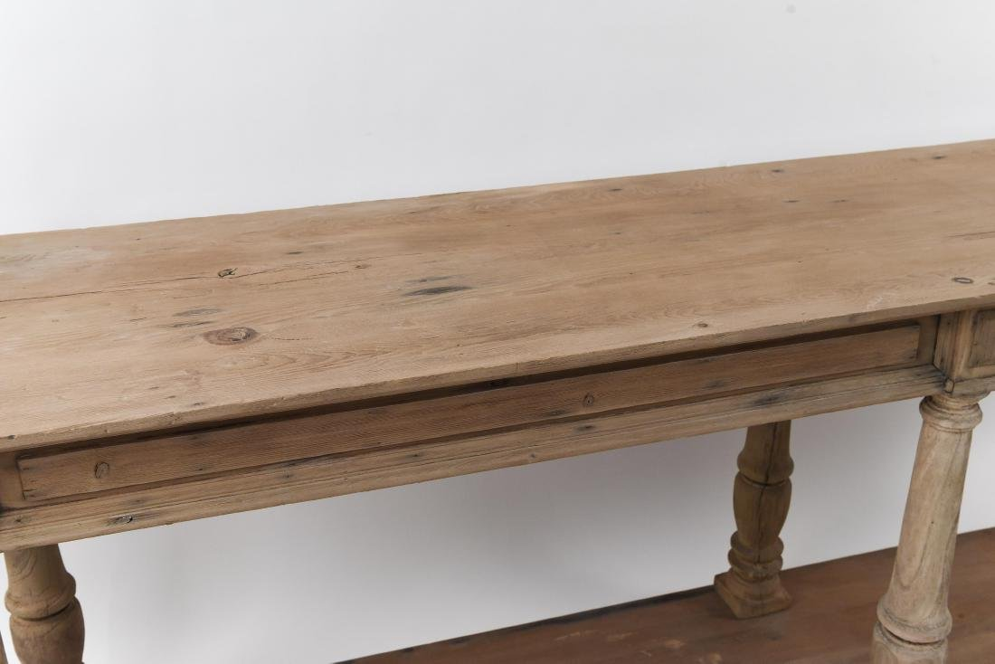 LONG PINE CONSOLE TABLE - 3
