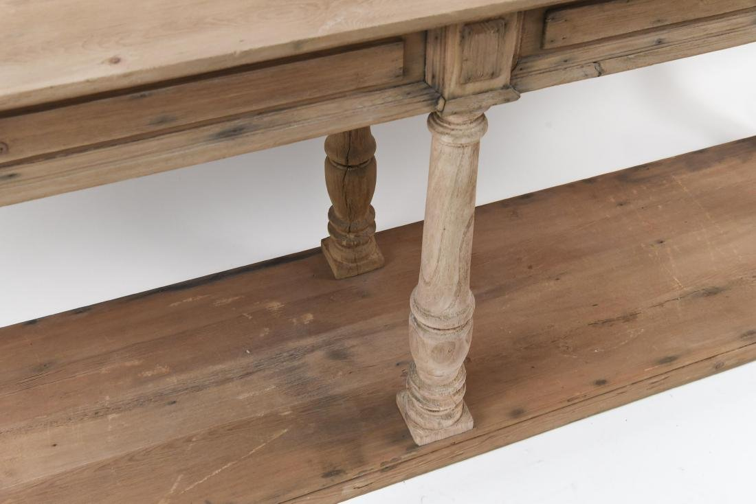LONG PINE CONSOLE TABLE - 4