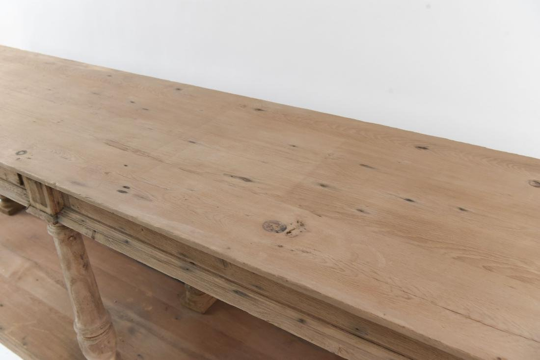 LONG PINE CONSOLE TABLE - 6