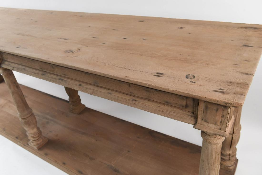 LONG PINE CONSOLE TABLE - 7